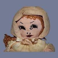 Sweet Orange Hair Rag Doll