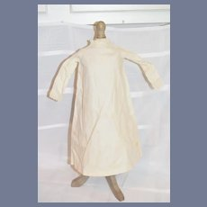 White Long Sleeve Cloth Doll Dress Undergarments