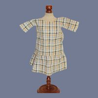 Sweet Plaid Doll Dress