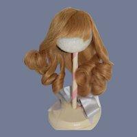 Wonderful French Doll Wig Human Hair