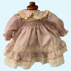 Miniature Purple Doll Gown
