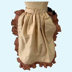 Candy Stripe Ruffle Doll Skirt