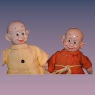 Antique Doll IDEAL Snow White & Seven Dwarfs Composition