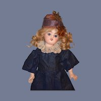 Antique Doll Bisque French Mystery Cabinet Size