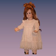 Antique Doll TeTe Jumeau French Bisque Big Girl Dressed