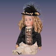 Antique Doll Bisque Simon & Halbig Kammer & Reinhardt Dressed