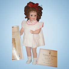 Vintage Wendy Lawton KATIE Doll Porcelain W/ Papers