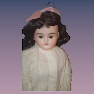 Antique Doll Bisque Kestner H Series Beautiful Turned Head