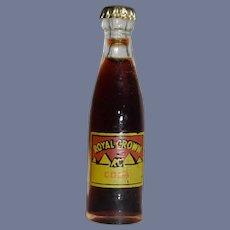 Miniature Royal Crown Cola Bottle