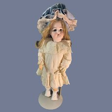 Antique Bisque Doll Hanwerck Simon Halbig 79 Cabinet Size Gorgeous