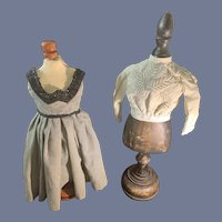 Old Doll Dress and Doll Blouse Top Sweet
