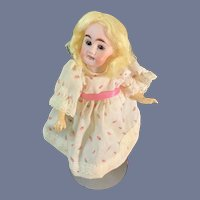Antique Doll Petite Dollhouse Carl Hartman Globe Baby Walker Body