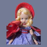 Nancy Ann Story Book #170 Rain, Rain Doll