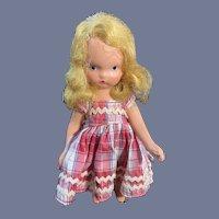 Little NASB Doll in Plaid Set
