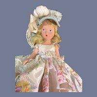 Nancy Ann Story Book Hard Plastic Flower Girl