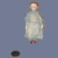 Sale Pending Sue Antique Doll Frozen Alice China Head Bisque Fancy Gorgeous Miniature Dollhouse