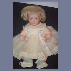 Antique Doll Rare Bisque Armand Marseille W/ Talk Box Character
