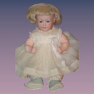 Antique Doll Rare Bisque Armand Marseille W/ Talk Box Character
