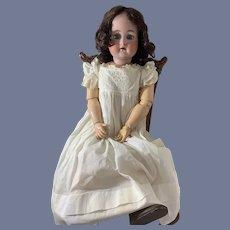 "Antique Doll Simon & Halbig Kammer & Reinhardt Bisque Doll 29"" Tall Big Girl"