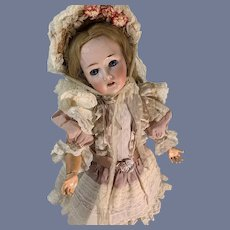 Antique Doll Bisque 150 Gorgeous  Dressed Gorgeous Revalo Jointed