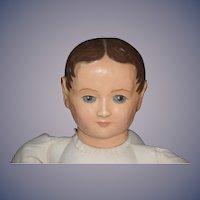 Vintage Doll Wax Character Artist Unusual