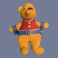Vintage Winnie The Pooh Teddy Bear Stuffed Animal Commonwealth Toy Co. Inc.