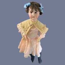 Antique Bisque Doll Heubach Koppelsdorf 250 Child Doll Sweet and Dressed