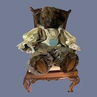 Vintage Teddy Bear Fur Dolls By Beth Massman Dressed Teddy WONDERFUL
