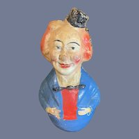 Old Doll Roly Poly Papier Mache Doll Character Unusual