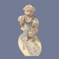 Wonderful Artist Doll Moussoir GSR Gerda Shaarman W/ Trousseau Box and Stand
