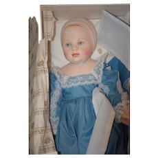 Doll Bisque Baby By Historical Society for UFDC Mint in Box