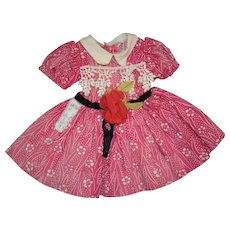 Vintage Shirley Temple Tagged Dress Ideal