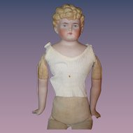 Antique Doll ABG China Head W/ Depose Shirt