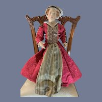 Wonderful Portrait Doll Cahterine Parr Wife of King Henry VIII Kathy Redmond