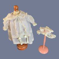 Old Sweet Doll Dress & Matching Bonnet  Sweet