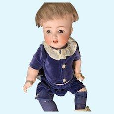 Antique Doll Bisque Baby Character W/ Eye Mechanism Kammer & Reinhardt Simon & Halbig 126