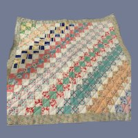 Old Doll Child's Quilt Patchwork