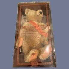 Vintage Steiff Teddy Bear Margarete Steiff Giengen Limited Edition Teddy Bear W/ Baby Bear In Box