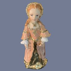 Wonderful Doll Figurine Historical Princess Elizabeth Kathy Redmond