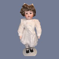 Antique Doll Bisque Armand Marseille 990 Sweet Face Nicely Dressed