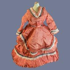 Old Fashion Doll Dress  Wonderful French Market
