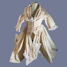 Sweet old Doll Dress Lace Trim Wonderful Fashion Doll