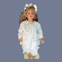 Artist doll by Ann Timmerman - Rashida Resin and Cloth Ltd. Ed 3 of ONLY 20 Dolls Made