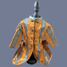 Wonderful Doll Dress High Collar Hook Buttons French Market