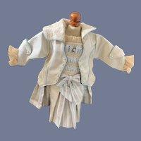 Vintage Doll Dress  French Market Drop Waist Fancy