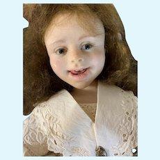 Vintage Doll J L Williamson Jamie L Williamson Artist Doll Signed & Dated All Original OOAK