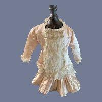 Vintage Doll Dress Gorgeous Artist Shirley B Jones French Market Gorgeous Drop Waist Lace Center