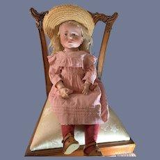 """Antique Bisque Head Doll Kammer Reinhardt 101 Original """"Marie"""" Antique Clothes & Shoes"""