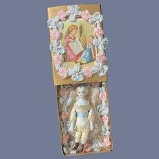 Wonderful Doll Miniature China Head Trousseau Artist Dollhouse