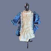 Vintage Sweet Petite Doll Dress French Market Drop Waist